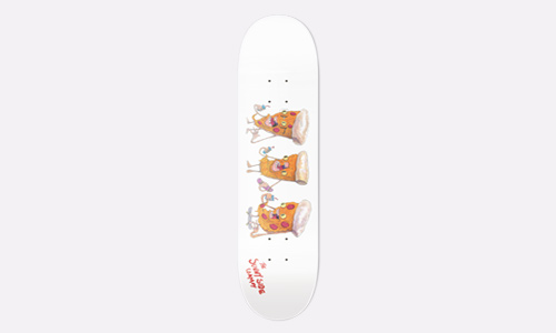 SunnySide x Saggy Town Pizza Party Deck