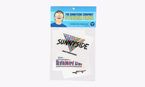 Skateboard Stickers Pack - Series 2 - SunnySide